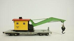 American Flyer Lines S Gauge 606 Boom Crane Car No Box S20-2