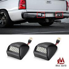 Rear Bumper License Led Plate Light For Chevrolet Silverado Gmc Sierra 1999 2014