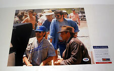 GEORGE LUCAS STAR WARS INDIANA JONES SIGNED AUTOGRAPH 11X14 PHOTO PSA/DNA COA #1
