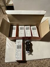 Lot Of 5 Pass & Seymour CR15 Duplex Receptacle Outlet Brown 15A 125V NIB Com. Gd