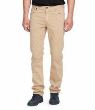 $250 William Rast Men's Beige Slim Twill Khaki Pants Size 36W 30L *REPAIRED*