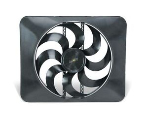 "FLEX-A-LITE 180 - 15"" Black Magic Xtreme S-Blade reversible elec fan"