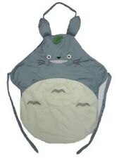 New My Neighbor TOTORO APRON w/ Ears  One Size Cute gift KAWAII Anime Blue Grey