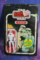 VINTAGE Star Wars IMPERIAL STORMTROOPER ACTION FIGURE 48 CARD BACK KENNER MOC