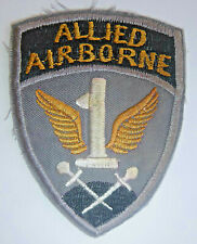 WWII PATCH - 1st ALLIED AIRBORNE - Paratroopers, Bulge, Market Garden - 0902