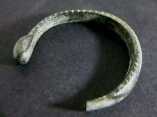 ANCIENT ROMAN BRONZE SNAKE BRACELET CIRCA 1ST TO 2ND CENTURY AD