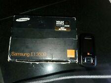 Samsung GT E1360-Negro (Naranja) Teléfono Móvil Nunca Usado