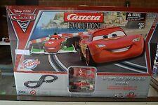 Carrera Evolution Disney Pixar Cars 2 World Grand Prix 25179 ~ NIB