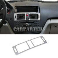 For Benz C Class W204 Inner Center Console Air Vent Outlet Trim Cover 2007-2010