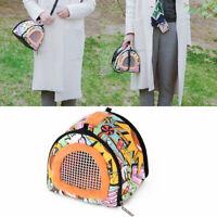 Portable Small Pet Travel Bag Hamster Carrier Breathable Outdoor Hedgehog Bag