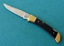 AMERICAN BLADE Small Lockback Knife AB-9 Parker Seki Japan Folder Brass 1980s