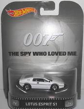 1/64 Hot Wheels Retro K Case James Bond 007 Lotus Esprit S1