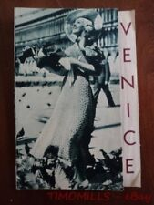 1935 Venice Italy Travel Brochure Modern Style Photomontage Vintage Original