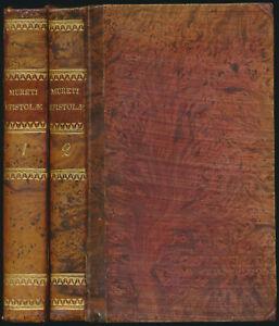 Marc-Antoin de Muret: J. C. et Civis Romani, Orationes, Epistolae [...] (1777).