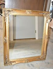 Vintage Gold Decorated Wall Mirror