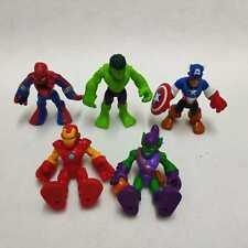 5pcs Playskool Heroes Marvel Super Hero Adventures Enemies Bundle Imaginext Toys