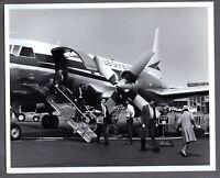 ALLEGHENY CONVAIR LARGE VINTAGE AIRLINE PHOTO