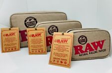 More details for raw odour/ smell proof zip up stash bag- 3 sizes 100% authentic free raw tips!!