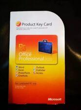 Microsoft Office  Professional 2010 Product Key Card COA Download