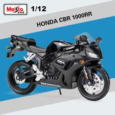 Maisto #31102 Motor Bike HONDA CBR 1000RR Black 1/12 Scale Diecast Metal Models