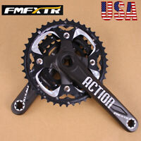 104/64BCD 170MM 24/32/42t Crankset MTB Bike Chainring Crank Crank Arm Ultralight