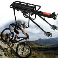 Aluminum Alloy Bike Rear Rack Seat Luggage Carrier Bicycle Post Pannier  Best