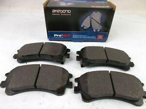 Disc Brake Pad Set Akebono Ceramic Pads Front Fits; Mazda 6