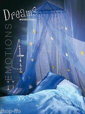 Moskitonetz DREAMS Leuchtsternen 12,5x2,5m Betthimmel Baldachin Vorführer easy