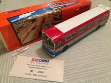 CORGI CLASSICS GM 5301 US BUS 54404 LIONEL CITY TRANSIT FISHBOWL RARE USA BNIB
