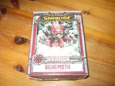 Warmachine Khador Behemoth  box new