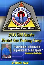 2014 Kyusho Extreme Self Defense Jack Hogan Karate International Seminar 2 DVDs