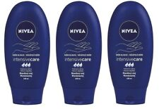 3x Nivea Intensive Care Hand Creme with Almond Oil Pack of 3 x 100ml FREE SHIP