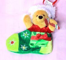 Winnie the Pooh Mini Christmas Stocking Disney Store Exclusive BNWT