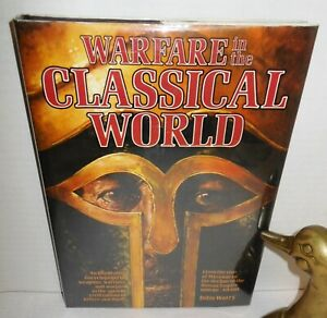 BOOK Warfare in the Classical World by John Warry 1st US Ed 1980 Romans / Greeks