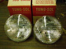 NOS Tung Sol Ford 6 Volt Headlight Bulbs Fairlane Thunderbird Truck 1949 - 1955