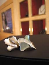 Ohrstecker - Perlmutt Muschel in einer Blütenform - Opdigo