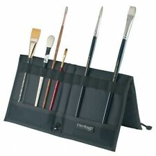 PAINT BRUSH or Tool HOLDER Case Organizer Black Nylon