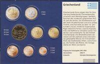 Griechenland GR 6 2002 G Stgl./unzirkuliert mit Geheimzeichen 2002 Kursmünze 50