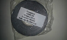OEM 1239X COROPLAST Automotive Heat Reflection Aluminum Tape 19mm x25m GERMAN