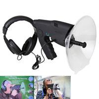 Parabolic Microphone Monocular Bionic Ear Birds Wildlife Spy Listening Device