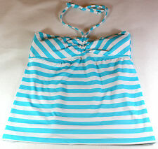 NWT Mossimo Women's Tankini Top Halter Removable Pads M