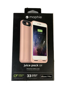 Mophie Juice Air Pack Wireless Charging Battery Case iPhone 7 Plus Charging Dock