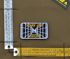 """Ricamata / Embroidered Patch Star Wars """"Stay On Target"""" with VELCRO® brand hook"""