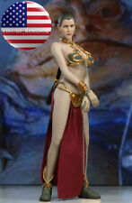 1/6 Princess Leia Organa Star Wars Slave Figure Doll Full Set USA IN STOCK