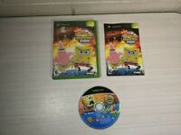 SpongeBob SquarePants Movie Original Microsoft Xbox 2004 w/ Manual & Case TESTED