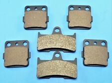 New Front & Rear Brake Pads For YAMAHA Grizzly 660 YFM660F (2002-2008)