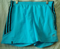 Adidas Clima 365 Bathing Suit/Shorts/Swimsuit/Trunks-Elastic Waist-Blue-Small