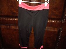 EUC Girls Size M Old Navy Active Black Capri Leggings Pants
