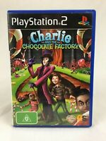 Charlie And The Chocolate Factory - With Manual - PS2 - Playstation 2 - PAL