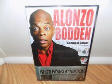 Alonzo Bodden: Who's Paying Attention? (DVD, 2011) Stand Up Comedy BRAND NEW!